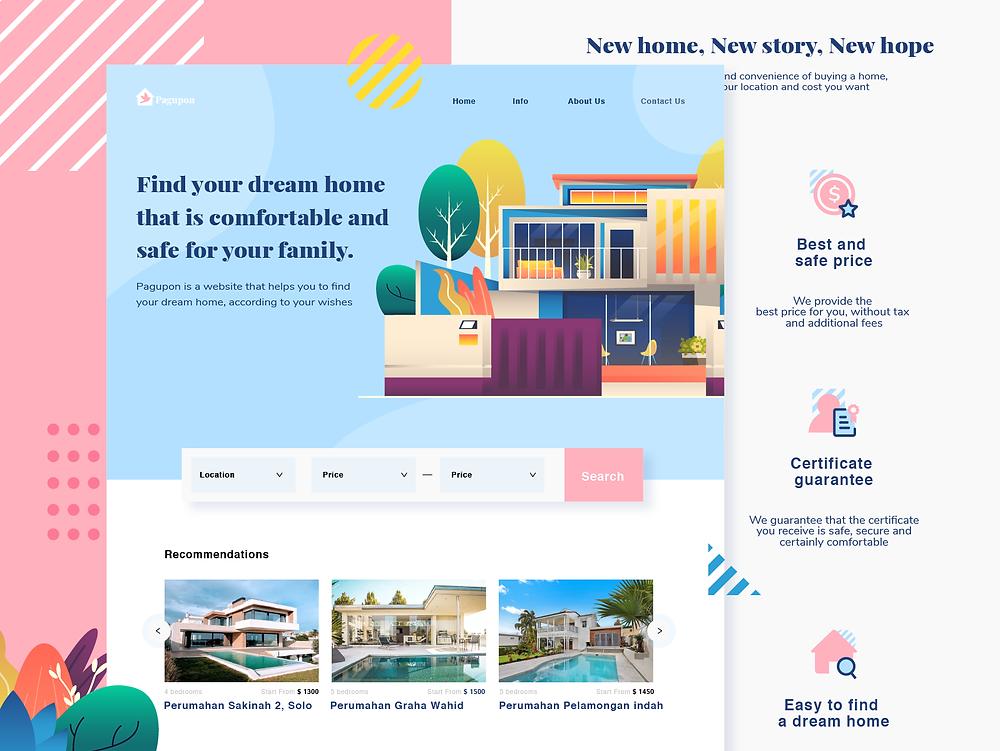Pagupon - Realestate website - Blitz Creatives