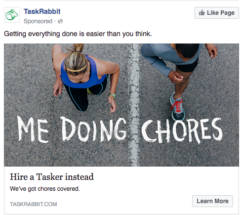 A great Facebook ad should be consistent with your whole brand image - Blitz Creatives