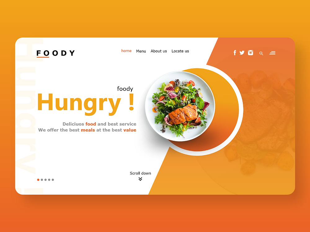 Restaurant Landing Page - Blitz Creatives