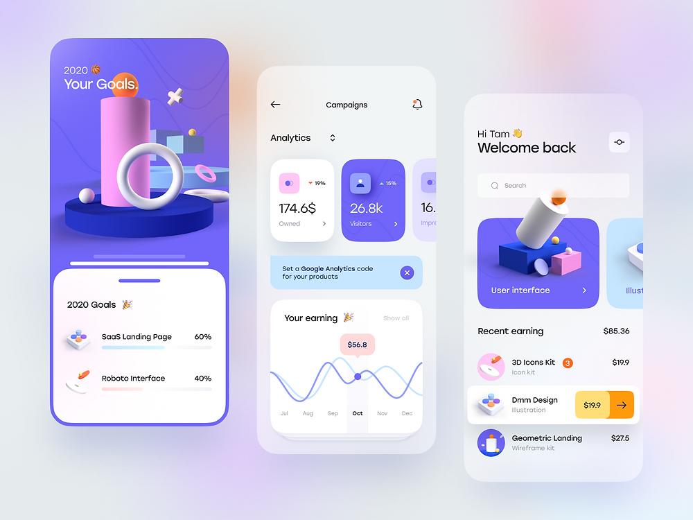 Blurr Series — Creator Dashboard by Tran Mau Tri Tam - Blitz Creatives