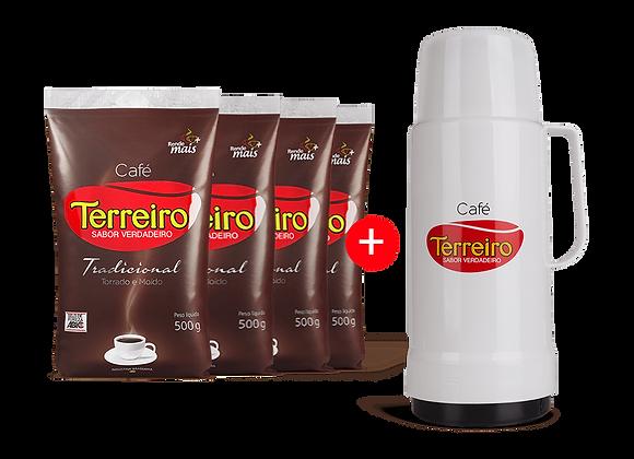 Café Terreiro Kit Stanza Garrafa