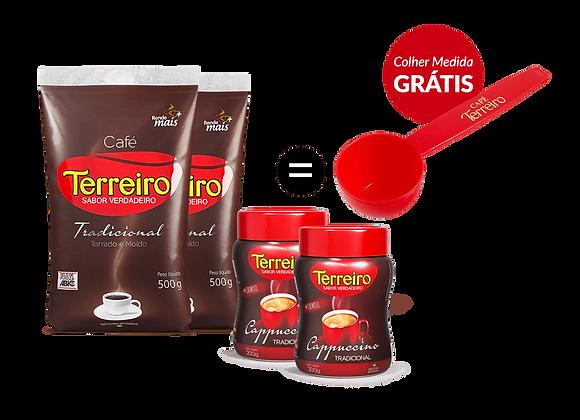 Café Terreiro Kit Duoccino
