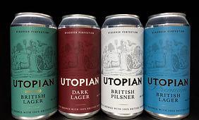 Utopian lager range cans.jpg