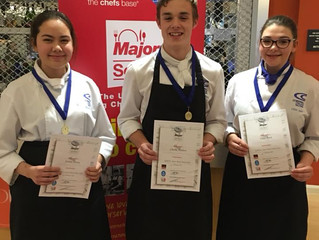 Local students triumph in UK's premier young culinary competition