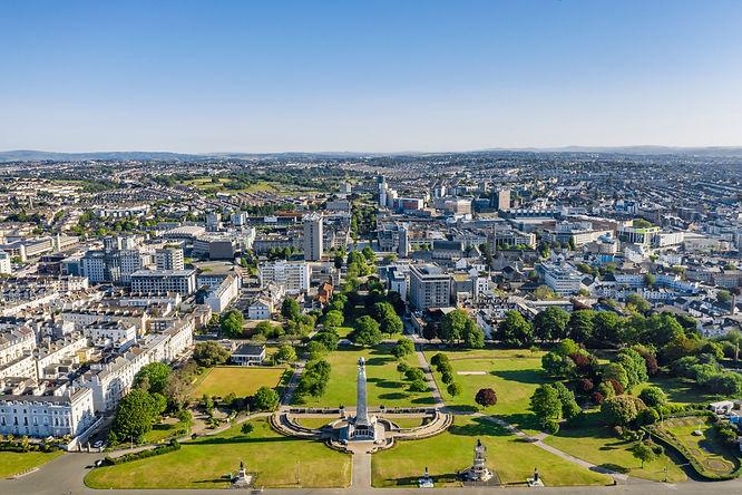 Plymouth city landscape