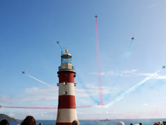 Red Arrows returning for Plymouth Armed Forces Day 2019