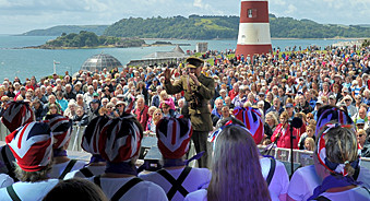 Exciting and energetic live music at Armed Forces Day