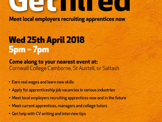 Get Hired Event at Cornwall College