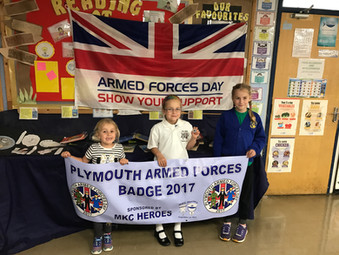 Plymouth's Armed Forces Day Fundraising Pin Badge Design Winners Announced
