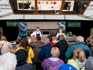 Chefs for the Cookery Theatre announced...