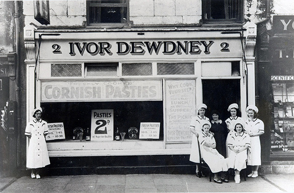 Ivor Dewdney First Shop