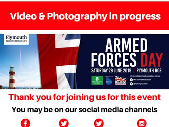Smile! Video & Photography at Armed Forces Day