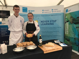 Rising stars - students get a flavour for baking at food festival