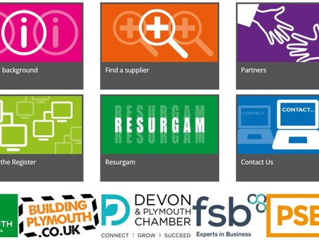 The Plymouth Supplier Directory open for business!