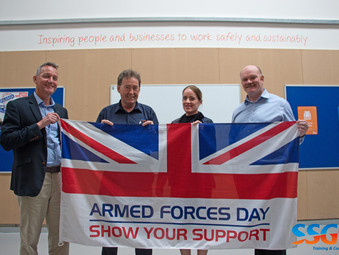 SSG support Plymouth Armed Forces Day