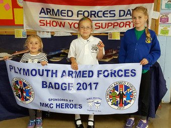 Plymouth Armed Forced Day Badge Competition 2018