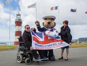 Veterans' Village returns to Plymouth Armed Forces Day