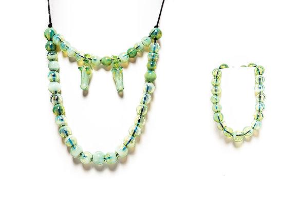 Knight Necklace & Matching Bracelet