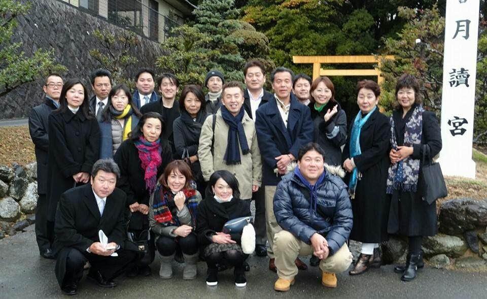 2015年1月ミチヒラキバスツアーの一枚♡
