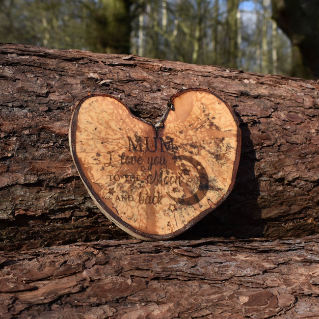 Personalised Spalted Birch
