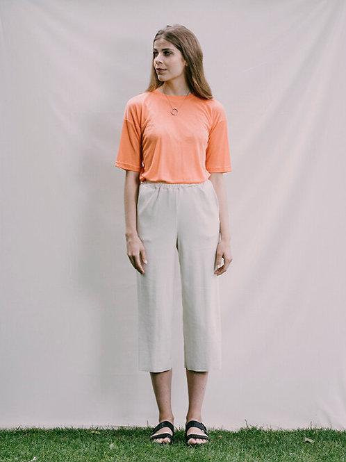 T-SHIRT MINA TABITHA WERMUTH, Orange, 100%Tencel