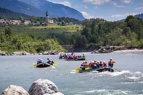 Swiss River Adventures Rafting Vorderrhe