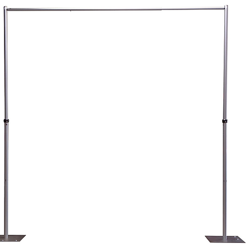 OnlineEEI, Adjustable Height Pipe and Drape Backdrop or Room Divider Kit