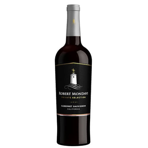 ROBERT MONDAVI PRIVATE SELECTION MERLOT RED WINE 750ML