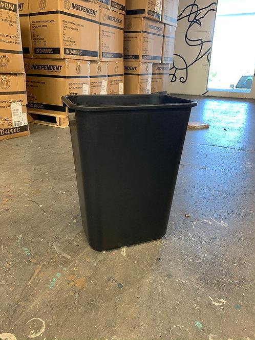 Office Trash Can - 10 Gallon, Black