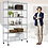 Thumbnail: 6 Tier Wire Shelving Unit Heavy Duty Height Adjustable NSF Certification Utility