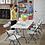 Thumbnail: Cosco 8 Foot Centerfold Folding Table, White