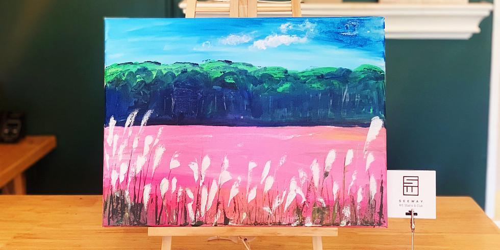 PINK PAMPAS GRASS