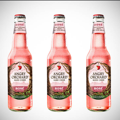 ANGRY ORCHARD ROSE-12oz
