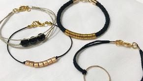 Collection bracelet Noir&Doré
