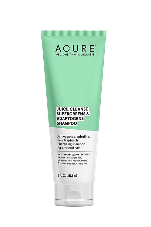 ACURE Juice Cleanse Supergreens & Adaptogens Shampoo