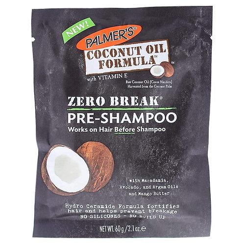 Palmer's Coconut Oil Zero Break Pre-Shampoo Treatment, 2.1 Ounce