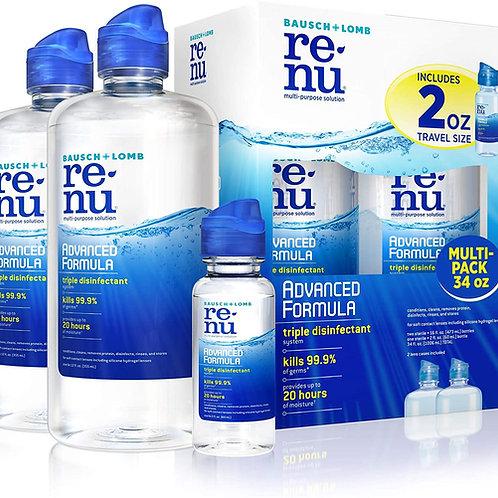 Renu Multi-Purpose Disinfectant Advanced Formula Contact Lens Solution