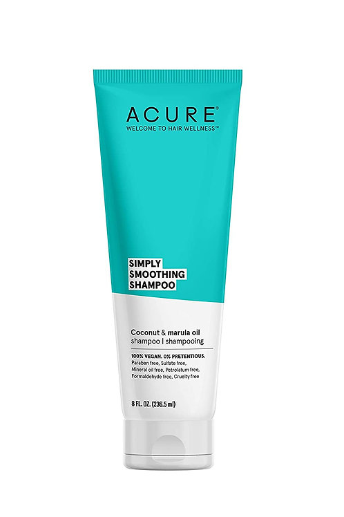 ACURE Simply Smoothing Shampoo, Water & Marula Oil