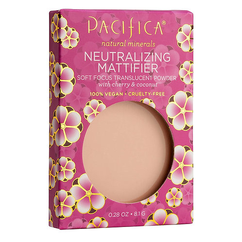 Pacifica Beauty Neutralizing Mattifier Cherry Powder