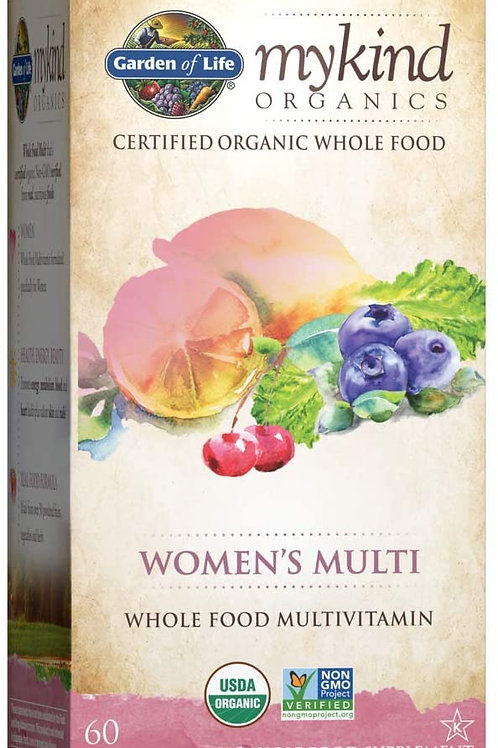 Garden of Life Organics Multivitamin for Women