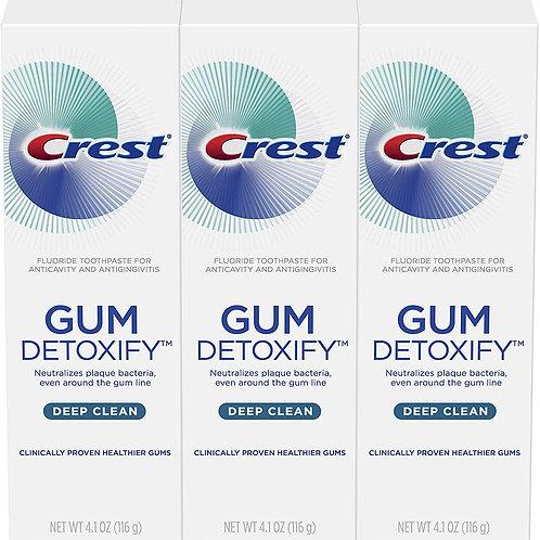 Crest Toothpaste Gum Detoxify Deep Clean (3 Pack)