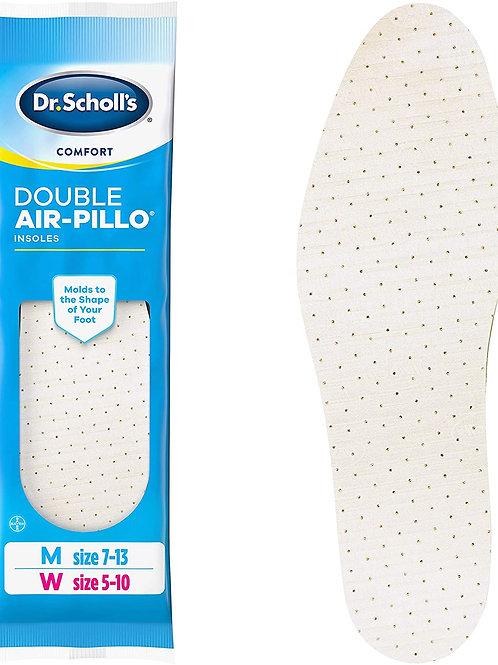 Dr. Scholl's DOUBLE AIR-PILLO Insoles (One Size fits Men's 7-13 & Women's 5-10)