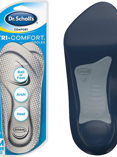 Dr. Scholl's Tri-Comfort Insoles for Men's 8-12