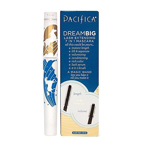 Pacifica Beauty Dream Big Lash Extending 7-In-1 Mascara Black Magic