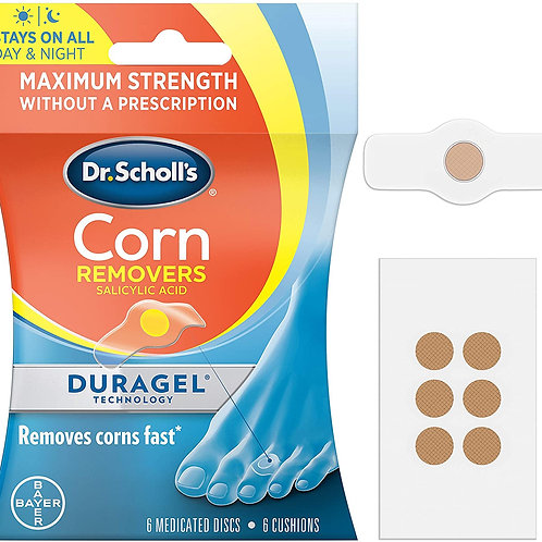 Dr. Scholl's CORN REMOVER with Duragel Technology (6-Count)