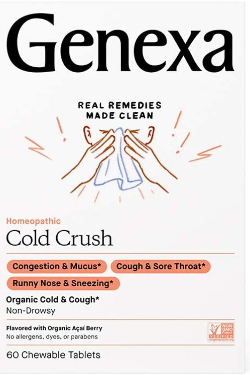 Genexa Cold Crush, 60 Tablets