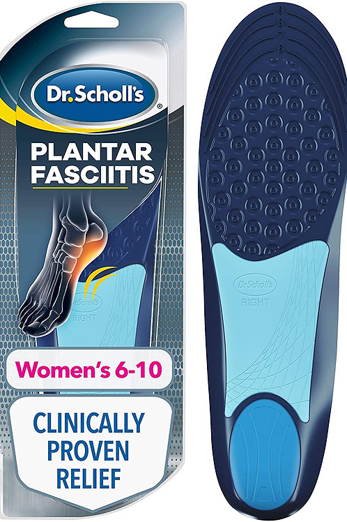 Dr. Scholl's Plantar Fasciitis Pain Relief Orthotics for Women's 6-10