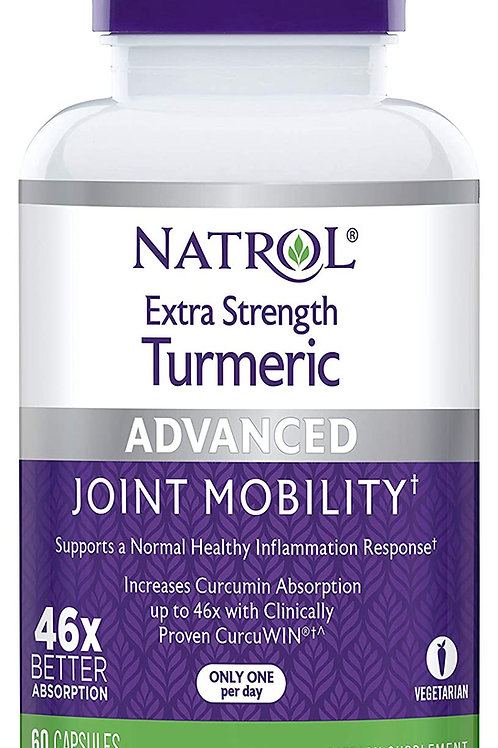 Natrol Extra Strength Turmeric Capsules