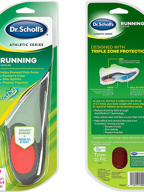 Dr. Scholl's Running Insoles for Women size 5.5-9