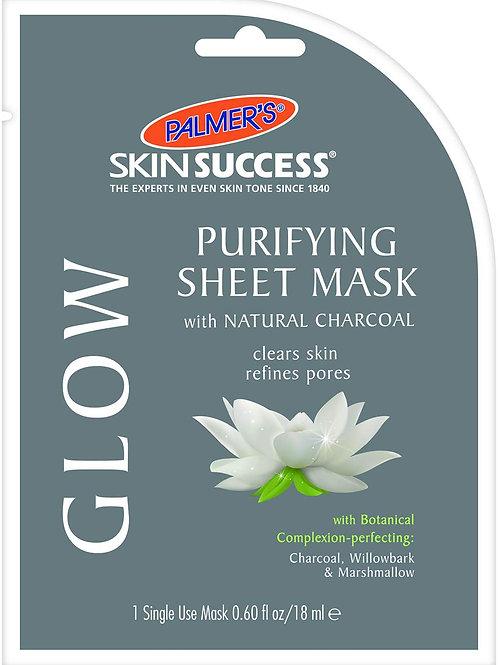 Palmer's Skin Success Glow Purifying Sheet Mask, 1-Count